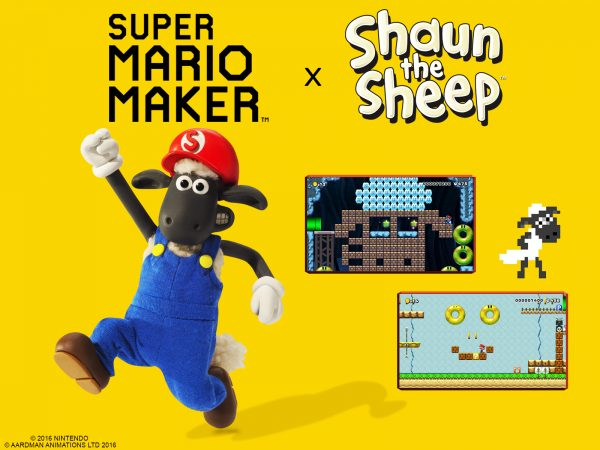 Nintendo and Aardman team to bring Shaun the Sheep to Super Mario