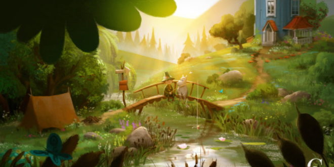 Gutsy Animations partners with Sony Music for Moominvalley