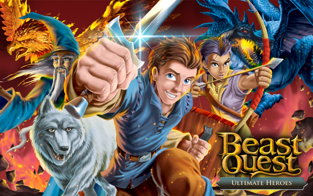 from page to stage and the digital age beast quest's