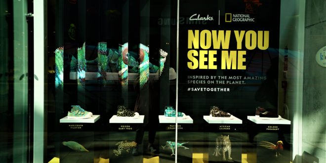 635bc629e National Geographic highlights world s endangered animals in new Clarks  collab