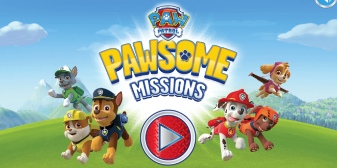 PAW Patrol Pawsome Missions launches on NickJr.co.uk – Licensing.biz